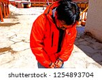 leh ladakh india april 11   the ...   Shutterstock . vector #1254893704