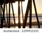 the wooden supports of this... | Shutterstock . vector #1254912151