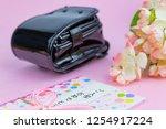 congratulatory gift image of... | Shutterstock . vector #1254917224