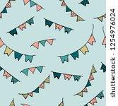 seamless pattern. for notebooks ...   Shutterstock .eps vector #1254976024