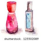 Coloured Nail Polish Bottles ...