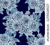 abstract elegance seamless... | Shutterstock . vector #1255028527