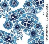 abstract elegance seamless... | Shutterstock . vector #1255028551
