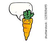 cartoon carrot | Shutterstock .eps vector #125505695