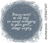 """illustration with quote """"brows... 