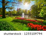 Keukenhof Flower Garden With...