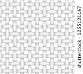 realistic seamless woven... | Shutterstock .eps vector #1255121167