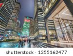 night view of park avenue and... | Shutterstock . vector #1255162477