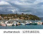 boats in the gulf of la spezia  ... | Shutterstock . vector #1255183231