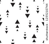 pattern seamless geometric and... | Shutterstock .eps vector #1255210744