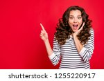 close up photo of attractive... | Shutterstock . vector #1255220917