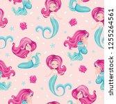 Cute Little Mermaid Pattern Fo...