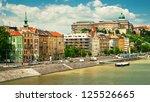 houses in budapest   Shutterstock . vector #125526665