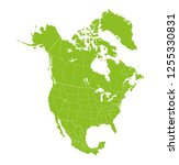 map of north america    Shutterstock .eps vector #1255330831
