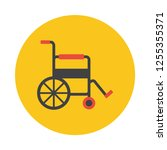 wheelchair flat icon. you can...