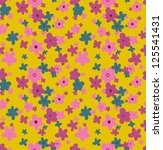 floral seamless pattern.... | Shutterstock .eps vector #125541431