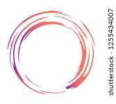 stylish vector design of brush... | Shutterstock .eps vector #1255434007