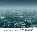 ocean before storm | Shutterstock . vector #125546885