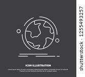 globe  world  discover ...   Shutterstock .eps vector #1255493257