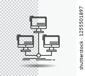 database  distributed ... | Shutterstock .eps vector #1255501897