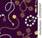 Chain Belt Pattern Fashion...