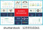 set of analysis or marketing... | Shutterstock .eps vector #1255510261