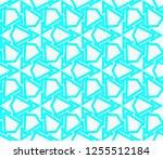 decorative wallpaper design in... | Shutterstock .eps vector #1255512184