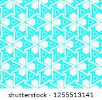 decorative wallpaper design in... | Shutterstock .eps vector #1255513141