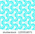 decorative wallpaper design in... | Shutterstock .eps vector #1255518571