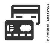 credit card icon.debit   master ...   Shutterstock .eps vector #1255519021