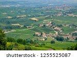 la morra  province of cuneo ... | Shutterstock . vector #1255525087