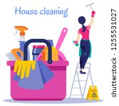 poster house cleaning. vector...