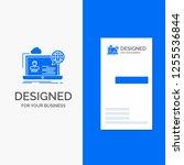 business logo for webinar ... | Shutterstock .eps vector #1255536844