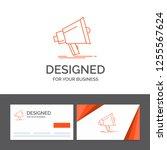 business logo template for... | Shutterstock .eps vector #1255567624