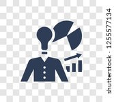business skills icon. trendy... | Shutterstock .eps vector #1255577134