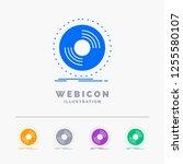 disc  dj  phonograph  record ... | Shutterstock .eps vector #1255580107