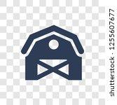 barn icon. trendy barn logo...   Shutterstock .eps vector #1255607677