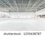 interior of empty warehouse | Shutterstock . vector #1255638787