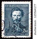 czechoslovakia   circa 1938  a... | Shutterstock . vector #125564177