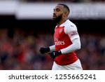 alexandre lacazette of arsenal  ... | Shutterstock . vector #1255665241