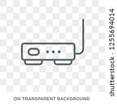hardware hotspot icon. trendy... | Shutterstock .eps vector #1255694014