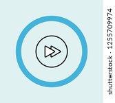 fast forward circular button...