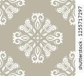 classic seamless vector pattern....   Shutterstock .eps vector #1255717297
