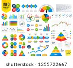 business infographic template.... | Shutterstock .eps vector #1255722667