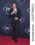 Small photo of LOS ANGELES - NOV 11: Jimmy Fallon arrives for the 2018 People's Choice Awards on November 11, 2018 in Santa Monica, CA