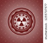 nuclear  radioactive icon... | Shutterstock .eps vector #1255737577