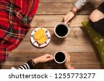 people hangout drinking coffee | Shutterstock . vector #1255773277