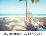 leisure in summer   beautiful...   Shutterstock . vector #1255777294