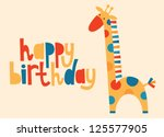 Happy Birthday Greeting Card....