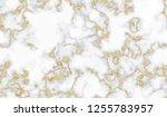 gold marble texture seamless... | Shutterstock . vector #1255783957